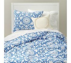 Tangled Up In Blue Bedding, just got this duvet cover and pillow sham