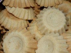 Sandkaker/Sand cookies, a Norwegian recipe.