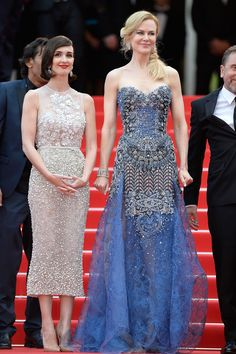 The Prettiest Cannes Film Festival Dresses of All Time -  Nicole Kidman in Armani Privé, 2014 - red carpet