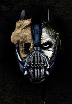 TOP original pintura al óleo ART-Dos-Cara Batman Joker 100% pintado a mano la pintura exento de coste de envío - MEJOR TRABAJO DE ARTE - 36 PULGADAS