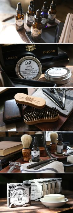 Natural, handmade grooming products by Brooklyn Grooming #beard #barber #barbershop #organic #natural #style #mensgrooming #brooklyn #brooklynGrooming