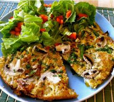 Spring Frittata by Eat Spin Run Repeat