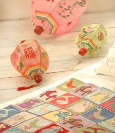 Handpainted Chinese lanterns