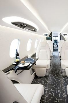 Make enough money to own a killer privet jet.