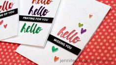 Shrinking Die Cuts Video by Jennifer McGuire Ink