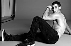 Jeans by Robin's Jean, SUPRA sneakers, and William Henry chains makes Nick look like quite the hottie! #nickjonas