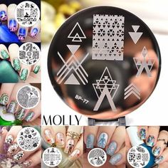 """""""Molly - Pretty Nails (C) - Women's Beauty Shop"""" - Miss Molly & Co.  Choose your favorite colour! Hurry Up Girls! Buy Now! www.sta.cr/2R452"""