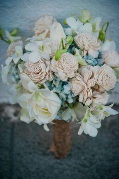 Bouquet for a winter wedding