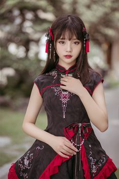 VK is the largest European social network with more than 100 million active users. Cute Asian Girls, Beautiful Asian Girls, Cute Girls, Korean Girl Fashion, Asian Fashion, Kawaii Fashion, Lolita Fashion, Fantasy Dress, Oriental Fashion