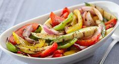 Grilled Seasoned Vegetables