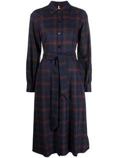 Tommy Hilfiger Joggers, Tommy Hilfiger Shop, Tommy Hilfiger Women, Blue Dress Casual, Blue Dresses, Dresses For Work, Casual Dresses, Oversized Puffer Coat, Striped Boots