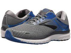 5f61b1c8e1d12 Brooks Adrenaline GTS 18 (Grey Blue Black) Men s Running Shoes. With