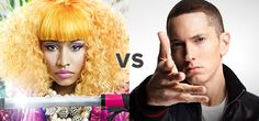 It's down to just two in the VEVO Video Playoffs.  Will Nicki Minaj beat out Eminem?  Your votes decide!  #VEVOVideoPlayoffs