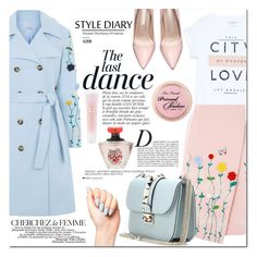 """""""Spring look"""" by ymociondesign ❤ liked on Polyvore featuring Anja, VIVETTA, MANGO, Valentino, Lancôme, La Femme, women's clothing, women, female and woman"""