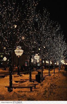 Dulce noche de invierno.....