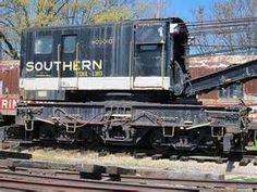 southern railroad crane car - Bing Images
