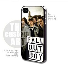 Fall Out Boy - For iPhone 4 / 4s | TheCustomArt - Accessories on ArtFire