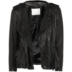 3.1 Phillip Lim Ruffled leather jacket