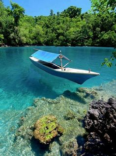 Maluku islands in Indonesia