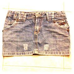 🔥Denim mini skirt💥 Super cute denim skirt Skirts Mini