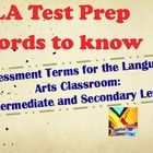 Great Power Point Resource for English Language Arts Terms for State Test Practice!  ZIP File: PPT File and PDF Version of PPT File $priced item  Terms focus o...