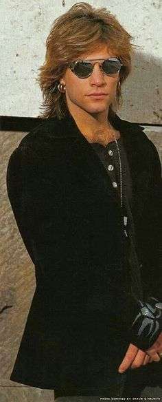 Jon Bon Jovi.  Oh my.  This may be my new favorite picture!