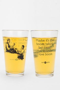 #UrbanOutfitters          #Apparment #Dinnerware    #booze #content #pint #sassy #classy #wash #drink #diameter #height #choice #usa #glass #machine #care #size                      Booze Talking Pint Glass  Stay classy with this sassy pint glass from Someecards. Fill it up with your drink of choice and scoff at inferior scoundrels and ruffians.    CONTENT   CARE  - Glass  - Machine wash  - Made in the USA    SIZE  - Diameter: 3.75  - Height: 5.75…