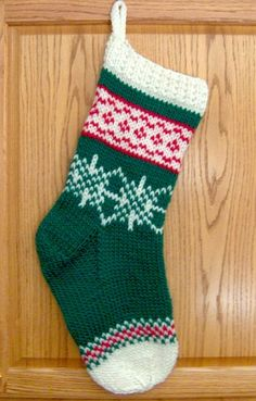 Denise's NeedleWorks - Fair Isle Christmas Stocking