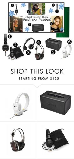 """""""Punk and Polished Gift Guide"""" by experienceheadphones on Polyvore featuring Stanmore and LSTN"""