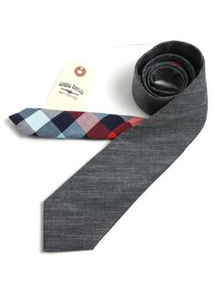 General Knot & Co - Japanese Shirting & Madison Check Necktie