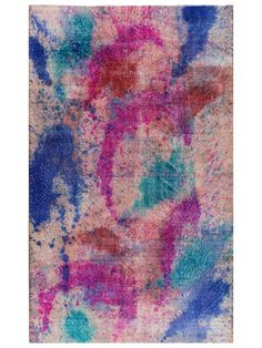 """Agrafena Vintage Overdyed Hand-Knotted Rug (5'2""""x8'6"""") by nuLOOM on Gilt Home"""