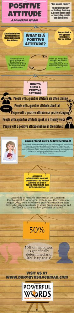 What is a positive attitude? A Powerful Word! Visit us at http://www.drrobynsilverman.com/ #attitude