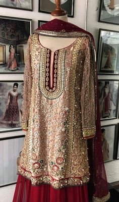 Simple Fashion Tips Walima Dress, Pakistani Formal Dresses, Pakistani Wedding Outfits, Pakistani Dress Design, Bridal Outfits, Indian Dresses, Pakistani Bridal Couture, Bridal Lehenga, Fancy Wedding Dresses