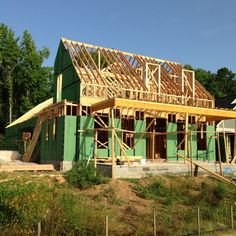 The Southern Living Custom Builder Program Showcase Home Is Under  Construction In The New Princeton Village
