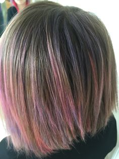 Pink purple color for kiddos Pink Ombre Hair, Pink Purple, Kids Hair Color, Hair Colors, Haircut And Color, Colored Highlights, Coloring For Kids, Trendy Hairstyles, Hair Inspiration