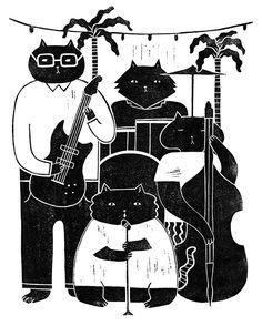 Cat Band - jingweistudio.com