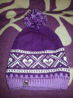Maria i natten Knitting For Kids, Easy Knitting, Knitting Socks, Knitting Projects, Knitted Hats, Crochet Hats, Double Knitting Patterns, Knitting Stiches, Norwegian Knitting