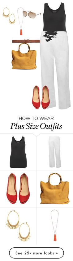 """plus size black and white summer styles/vacay chci"" by kristie-payne on Polyvore featuring maurices, Calvin Klein, Topshop, M&Co, Dorothy Perkins and Stella & Dot"