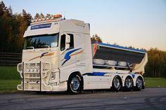 Volvo FH Volvo Trucks, Rc Trucks, Big Rig Trucks, Dump Trucks, Truck Paint, Large Truck, Show Trucks, Busse, Trailer