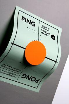 Ping Pong Night on Behance