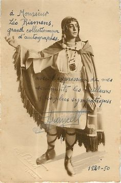 Francell, Fernand - Signed Photo in role