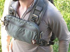 Hill People Gear Runner's Harness - ranger green