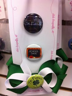 Dragonfly Buddy Button for St. Patrick Catholic School in Wentzville, MO