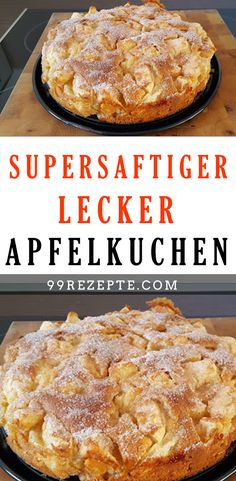 Supersaftiger LECKER Apfelkuchen Super juicy DELICIOUS apple pie Super juicy apple pie, a delicious Healthy Eating Tips, Healthy Nutrition, A Food, Food And Drink, Hamburger Meat Recipes, Vegetable Drinks, Evening Meals, Food Cakes, Salmon Recipes
