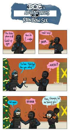 I love Dokkaebi, she's my new bae (even if Fuze remains my main). Sorry for that last bad pun of 2017, at least it has a little Christmas vibe on Dostoïevski Café ! Rainbow Six Siege &#16...
