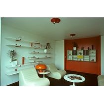 Experimental Plastic House: GRP Modular Unit Type Milton Keynes,  Buckinghamshire: The Living Room Part 92