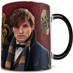Fantastic Beasts and Where to Find Them Fantastic Beasts Morphing Mug™... ($17) ❤ liked on Polyvore featuring home, kitchen & dining, drinkware, inspirational mugs, plain mugs, black ceramic mug, motivational mugs and plain ceramic mugs