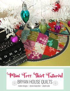 Mini Tree Skirt - mini charm pack