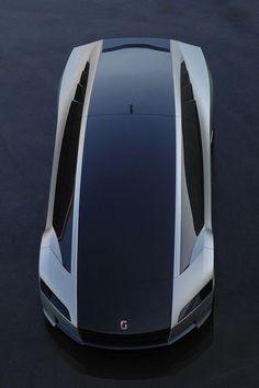 Giugiaro Concept: The world's fastest hybrid, Future Vehicle, Giorgetto Giugiaro, Futuristic Car, Italdesign Quaranta:
