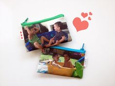 SALE  30% OFF Customized kids Photo wallet gift idea  by efratul